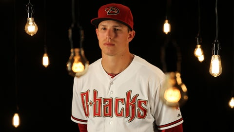 Third baseman Jake Lamb