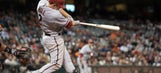 Hill lifts D-backs past Giants in 12th
