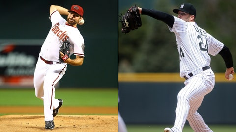 Diamondbacks (8-11) vs. Rockies (11-8)