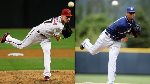Diamondbacks (14-16) vs. Padres (16-15)