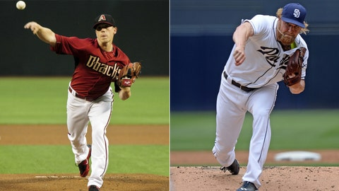 Diamondbacks (33-35) vs. Padres (34-37)