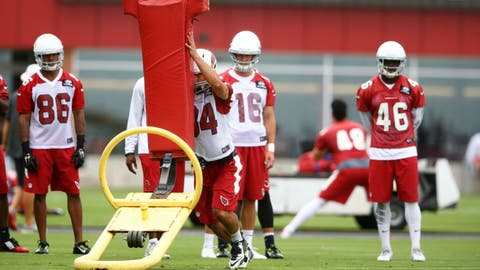 Cardinals mini-camp, June 9