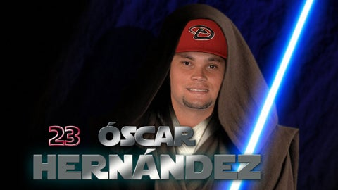 D-backs on Star Wars Night