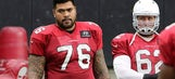 Arians: Cardinals G Iupati a little stiff but otherwise fine