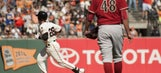 Hellickson, D-backs can't complete sweep of Giants