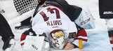 Coyotes lose Smith to injury, game to Senators