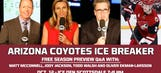 Coyotes Ice Breaker, tonight at 7 p.m., streaming live on FOX Sports GO