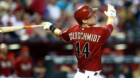 Diamondbacks: Paul Goldschmidt