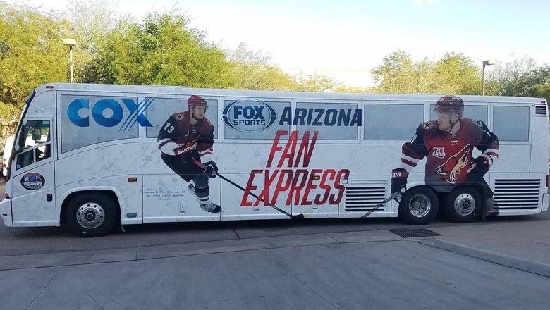 Join FOX Sports Arizona on Coyotes Fan Express