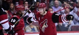 Coyotes unleash offensive onslaught on Canadiens