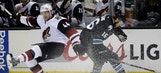 Coyotes again shut out by Sharks
