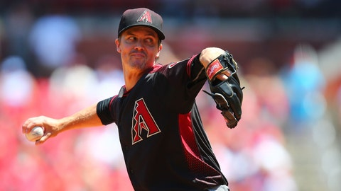 D-backs starting pitcher Zack Greinke