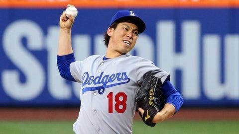 NL ROY: Kenta Maeda, Los Angeles Dodgers