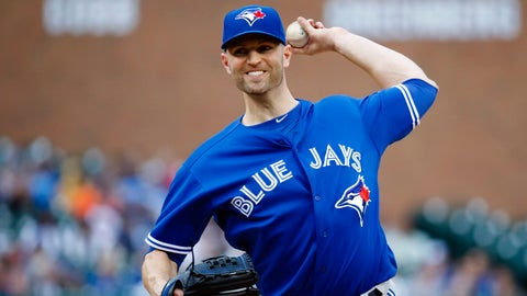 Jays not hitting for Happ