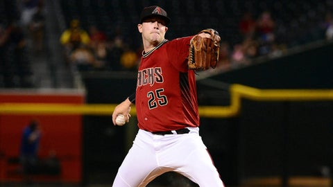 Diamondbacks starting pitcher Archie Bradley