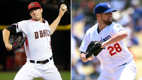 D-backs (38-52) vs. Dodgers (51-40), 6 p.m., FOX Sports Arizona