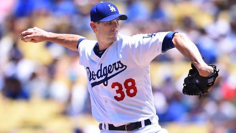 Dodgers starting pitcher Brandon McCarthy