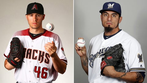 D-backs (41-58) at Brewers (42-55), 4:30 p.m., FOX Sports Arizona