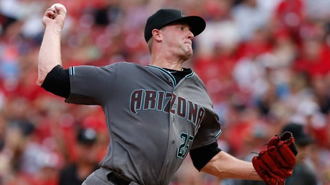 D-backs starting pitcher Archie Bradley