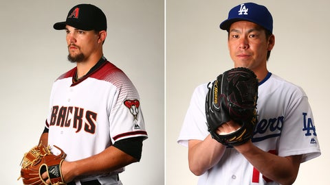 D-backs (42-60) at Dodgers (57-45), 6:30 p.m., FOX Sports Arizona