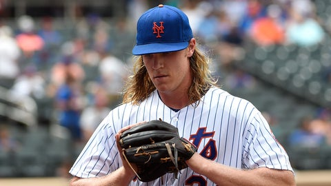Mets starting pitcher Noah Syndergaard