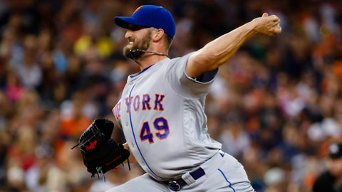 Mets starting pitcher Jonathon Niese