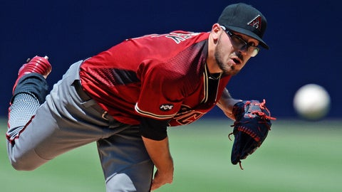 D-backs starting pitcher Braden Shipley