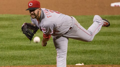 Reds starting pitcher Brandon Finnegan