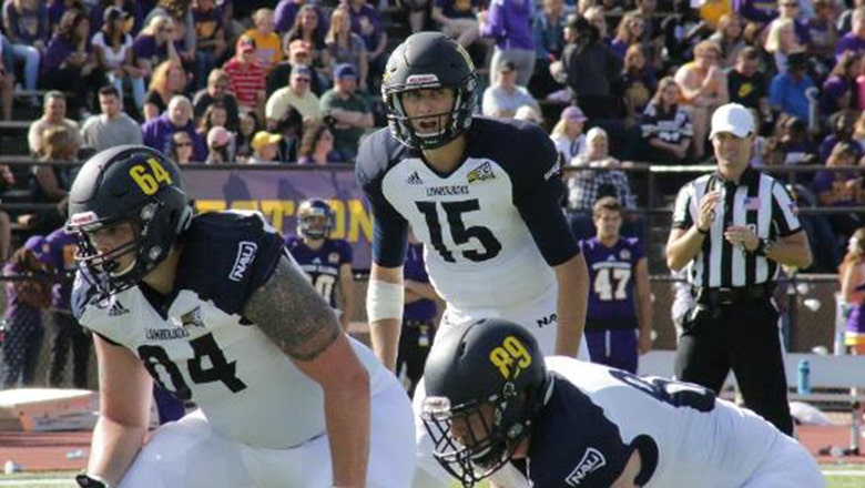 Cookus throws for 380 yards as NAU blows out Illinois St.