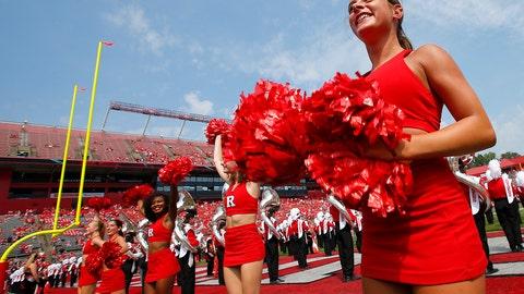 Rutgers cheerleaders