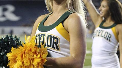 Baylor cheerleader