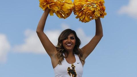 Wyoming cheerleader