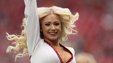 Cardinals cheerleader