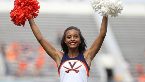 Virginia cheerleader
