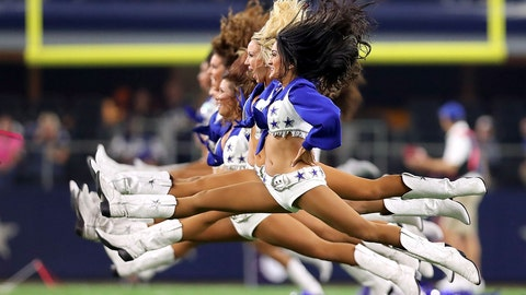 Cowboys cheerleaders