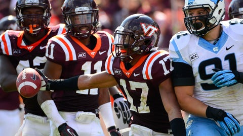CB: Kendall Fuller, Virginia Tech