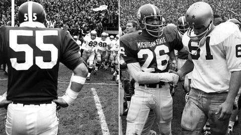 Notre Dame @ Michigan State -- 1966