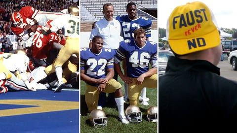 LSU @ Notre Dame -- 1981