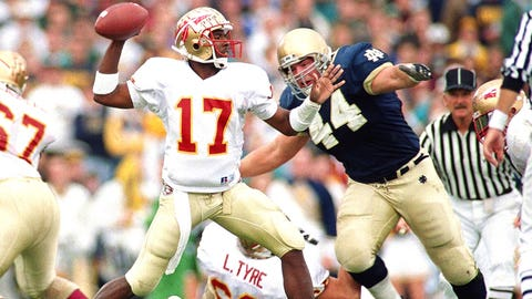 Florida State @ Notre Dame -- 1993