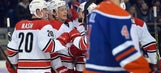 Hurricanes fall to Oilers, remain winless