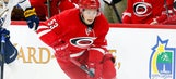 Hurricanes' Skinner diagnosed with concussion; status for opener unknown