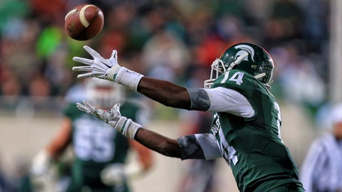 Tony Lippett, WR, Michigan State