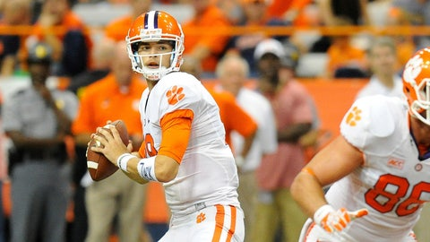 No. 19: Cole Stoudt, QB, Clemson Tigers