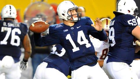 11 -- Christian Hackenberg, Penn State