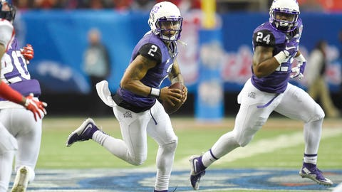 Big 12: TCU Horned Frogs (17/10)