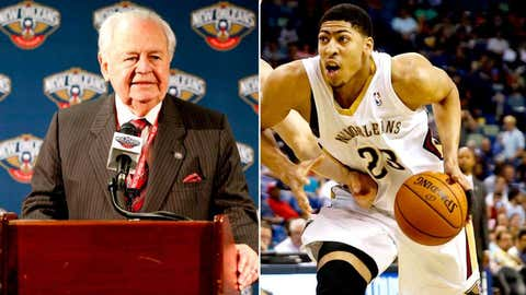 New Pelicans owner Tom Benson buys a team, wins a lottery