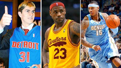 The 2003 Grizzlies get bumped from a transcendent draft