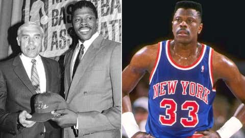An alleged cold envelope delivers Patrick Ewing to the Knicks