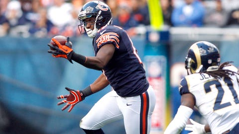 12. WR Alshon Jeffery, Chicago Bears