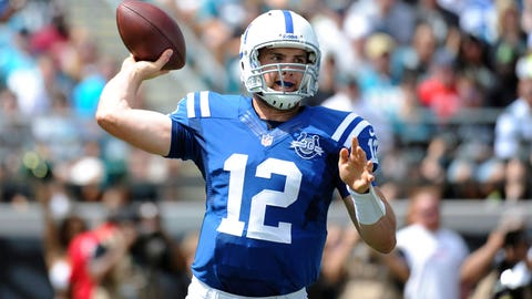 1. QB Andrew Luck, Indianapolis Colts